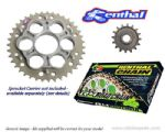Renthal Sprockets and GOLD Renthal SRS Chain - Ducati Hypermotard 1100 (2010-2012)